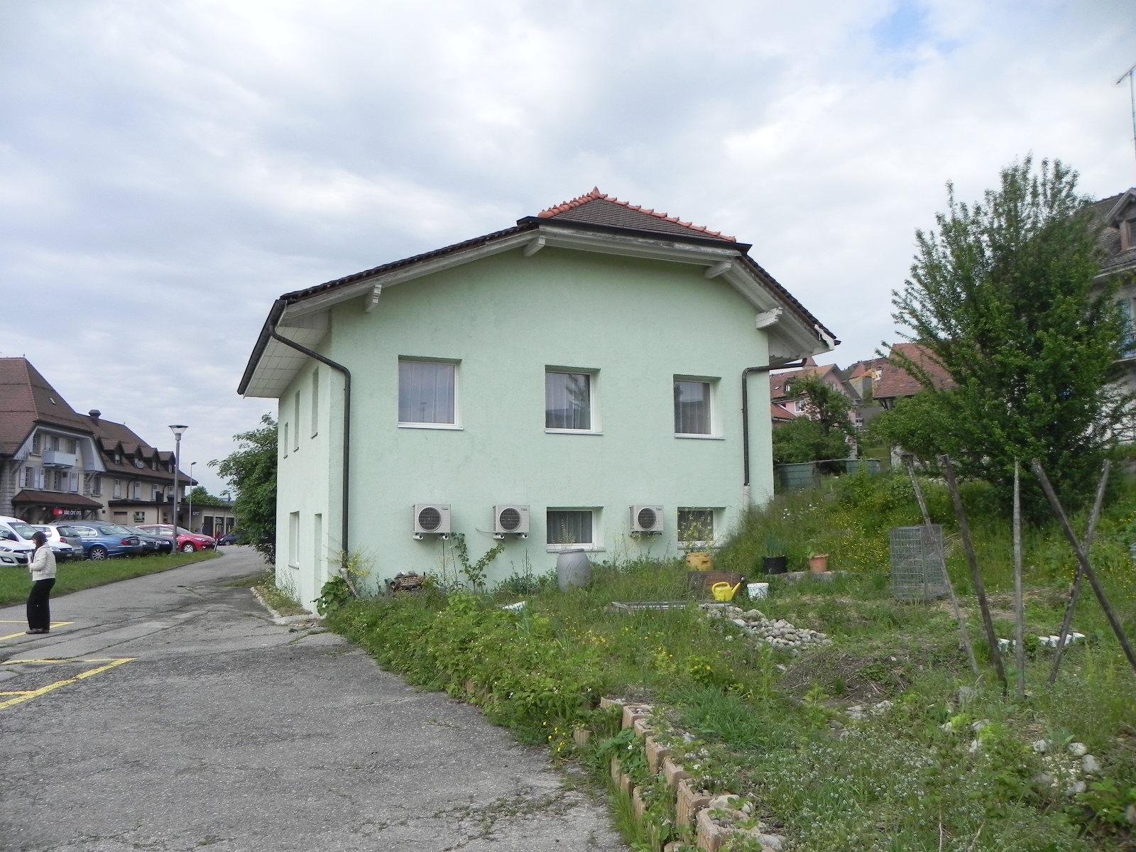 R novation de la maison verte romont fribourg for Atelier maison verte