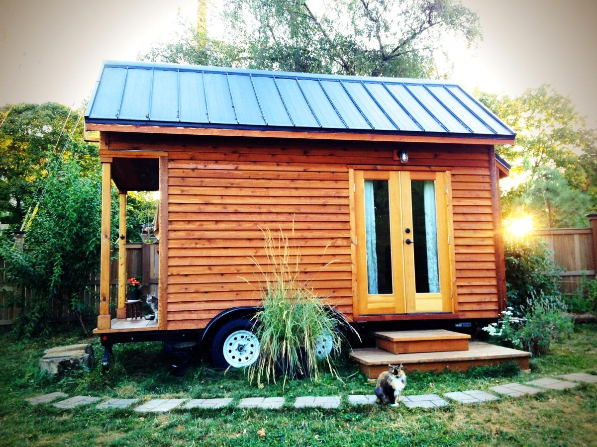 Une Tiny House. Avec ou sans roues?