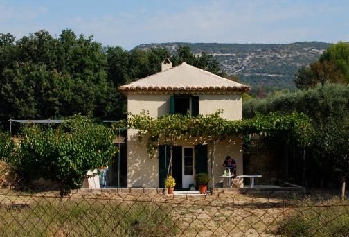 petite maison dans jardin