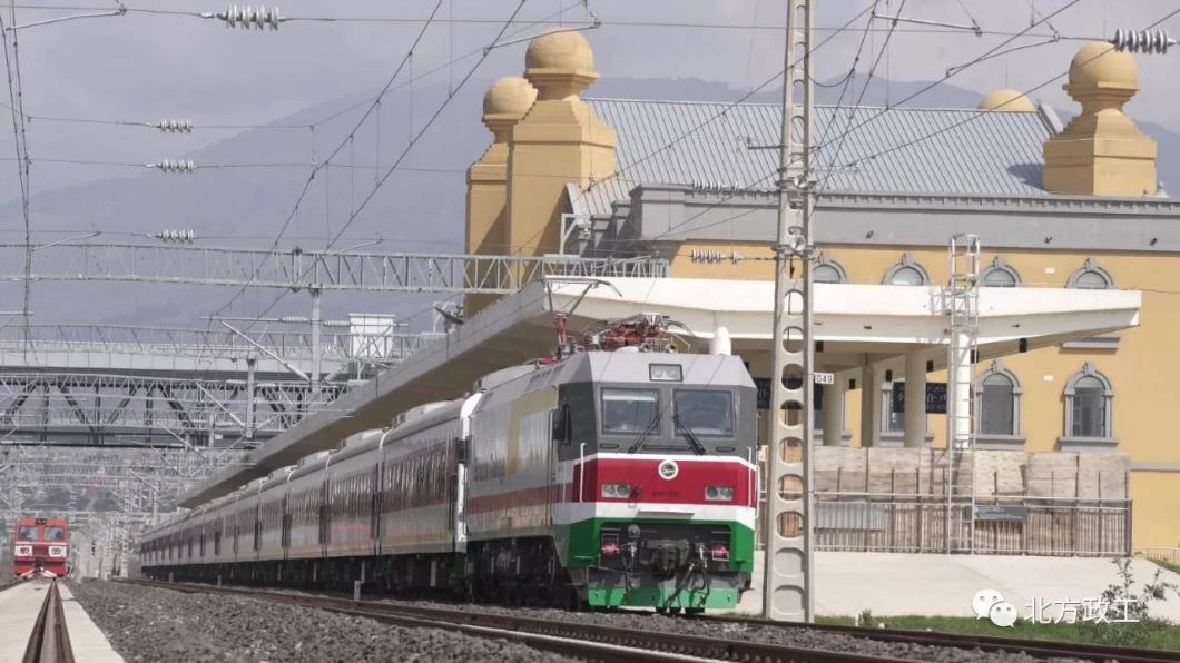 addis abeba gare train