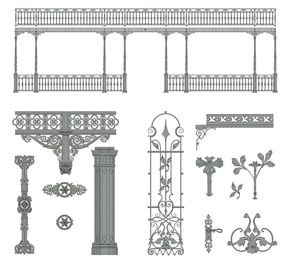 detail ferronnerie