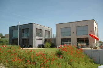 Maison écologique à Romont