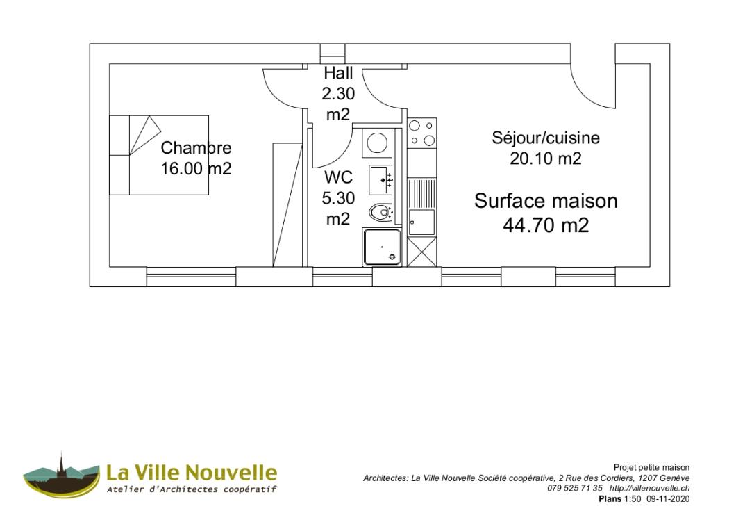 plans petite maison