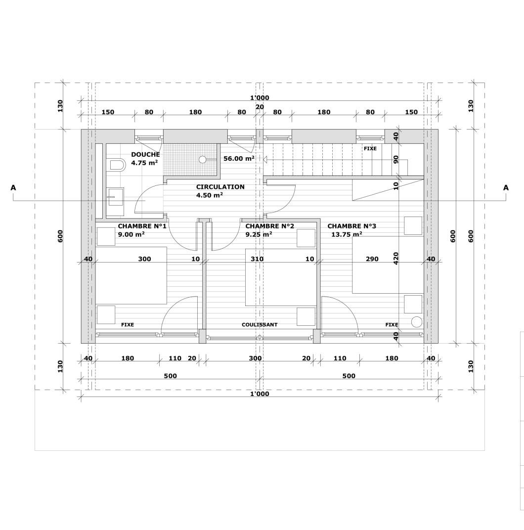 102 maison-Plan-Etage